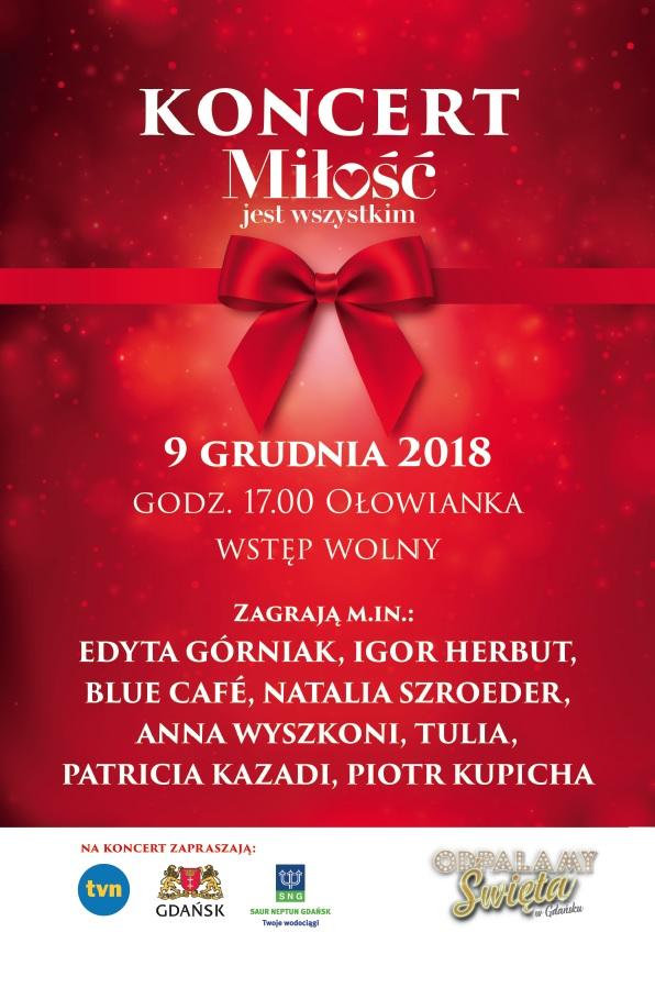 Plakat Koncert Mjw Gazeta Wieczór Pomorze